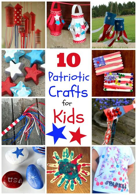 10 patriotic crafts for 4thofjuly via 545 | fa3e093ff20932d3a1c9f810458028e2