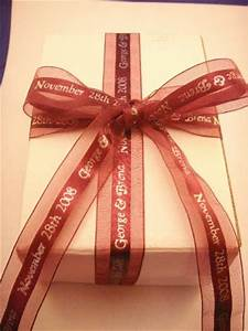 personalized ribbons for wedding favors personalized With personalized ribbon for wedding favors