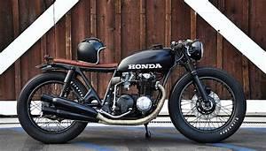 Honda Cb550 Cafe Racer Custom By Seaweed  U0026 Gravel