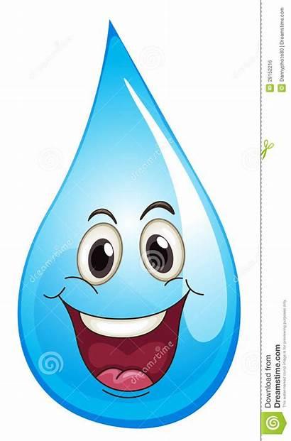 Water Drop Clipart Droplets Clip Happy Illustration