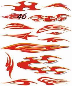 Car Flames Vector images
