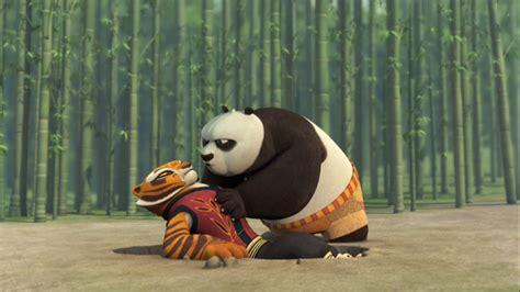 Kung Fu Panda Tigress And Po Kiss
