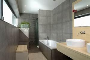 Bad Betonoptik Holz : 106 badezimmer bilder beispiele f r moderne badgestaltung ~ Michelbontemps.com Haus und Dekorationen