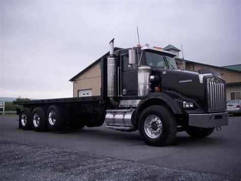 kenworth  flatbed truck  sale kenworth