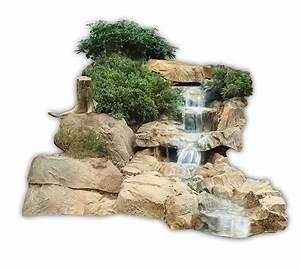 Gartenteich Mit Bachlauf : atg bachlauf wasserfall gartenteich bachlaufschalen set i mit filterfunktion ~ Buech-reservation.com Haus und Dekorationen