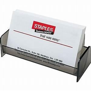 Staplesr business card holder smoke staples for Staples online business cards