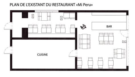 plan cuisine professionnelle gratuit réhabilitation d un restaurant péruvien cyrielle dunajski