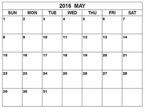 Calandar Template by May 2017 Weekly Printable Calendar Blank Templates