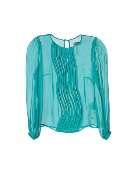 emerald green blouse lipsy blouses in green emerald green lyst