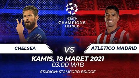 It will air on cbs and its sister streaming service, paramount plus. Link Live Streaming Liga Champions: Chelsea vs Atletico Madrid - INDOSPORT