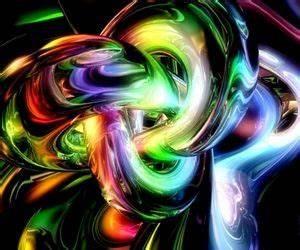 Neon Smoke fractal Neon Rainbow Smoke