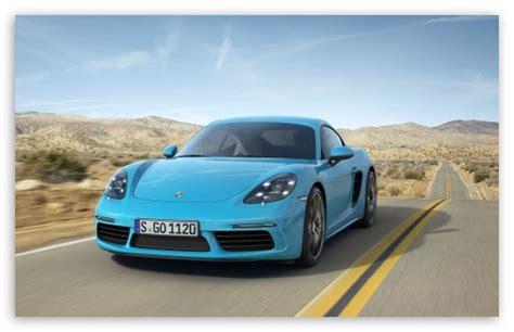 2017 Porsche 718 Cayman 4k Hd Desktop Wallpaper For 4k