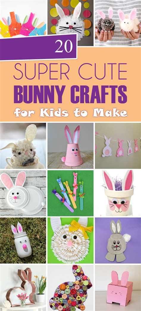super cute bunny crafts  kids