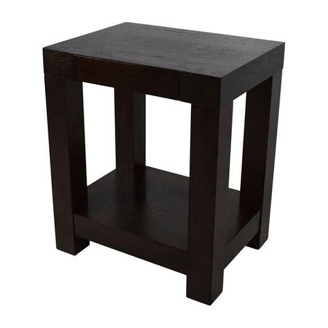 west elm end table 76 off west elm west elm parsons end table tables
