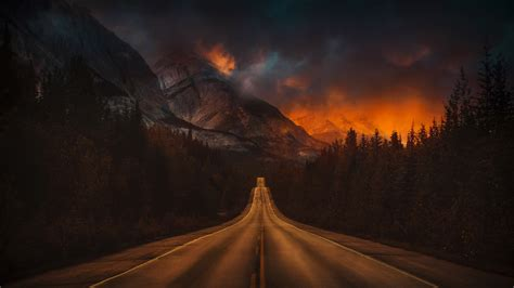 4k Nature Background by 3840x2160 Mountain Nature Road 4k 4k Hd 4k