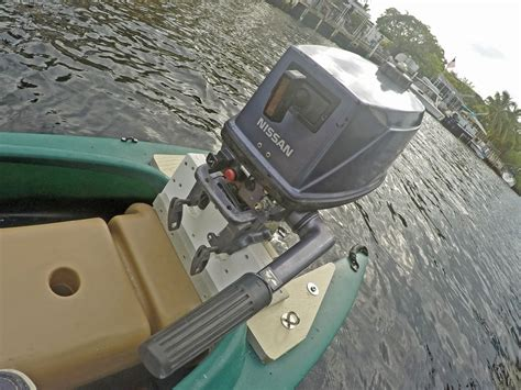 Electric Boat Motor 5 Hp by Wavewalk 700 Skiff With 5 Hp Tohatsu Outboard Motor And