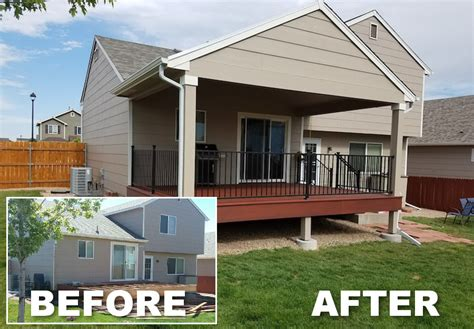grand mesa deck remodel patio cover addition j j