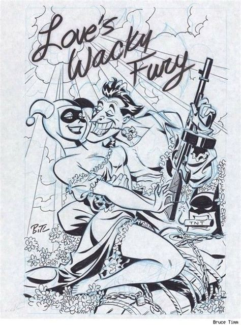 hq j loves wacky fury harleen quinzel bruce timm harley quinn joker harley quinn
