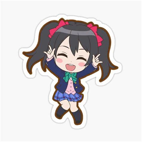 yazawa nico stickers redbubble