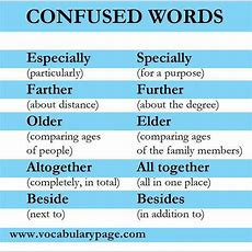 Best 25+ Confusing Words Ideas On Pinterest  Commonly Confused Words, Grammar And Grammar Check