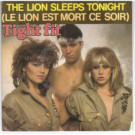 Tight Fit Lion Sleeps Tonight