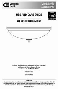 Commercial Electric Hui8011ll  Orb Instructions    Assembly