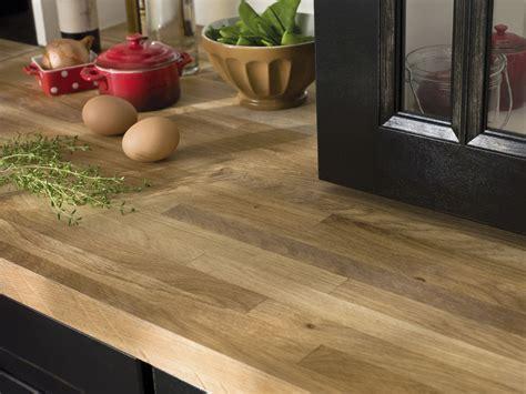 cuisine plan de travail en bois plan de travail en bois lequel choisir inspiration