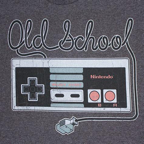 Nintendo Mens Old School Controller Tee Shirt
