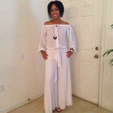 all white jumpsuit for sold all white jumpsuit s from dressedbyanangel 39 s