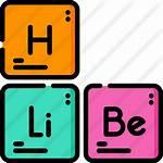 Table Periodic Icon Icons Premium