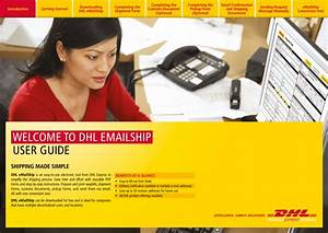 Welcome To Dhl Emailship User Guide
