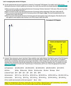 Hr Diagram Gizmo Answer Key