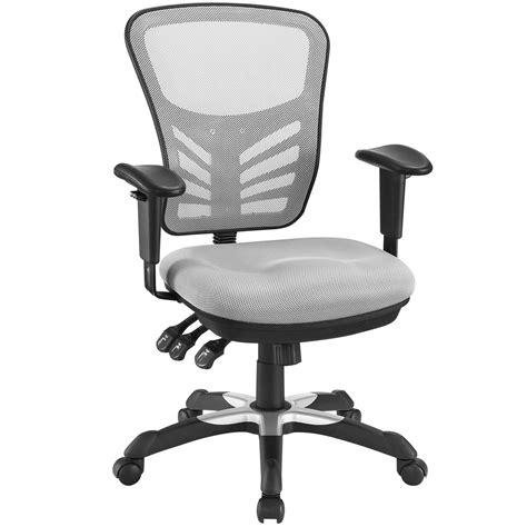 articulate modern adjustable ergonomic mesh office chair gray