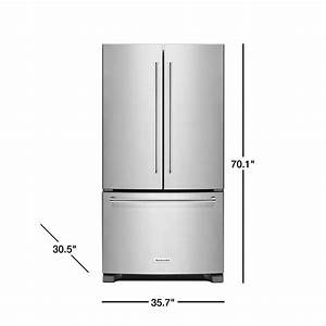 Refrigerator Electrical Outlet Height