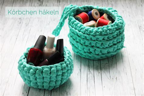Diy Anleitung Len Aus Korb by K 246 Rbchen H 228 Keln Mit Textilgarn Handmade Kultur