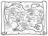 Pirate Map Treasure Coloring Pages Pirates Neverland Jake Printable Maps Deviantart Ship Toys Disney Colouring Squidoo Blank Birthday Sheets Crafts sketch template