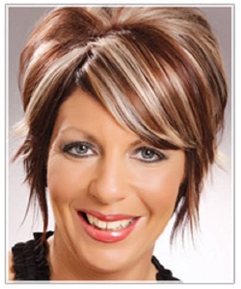 short dark brown hairstyles with highlights hairstyles