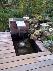 Lame D Eau Bassin : nature bassin la mare et le bassin de jardin naturel ~ Premium-room.com Idées de Décoration