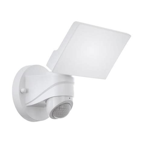 pagino white pir outdoor wall light 98177 the lighting