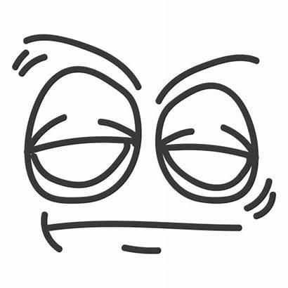 Sleepy Cartoon Face Emoticon Vexels Faces Ad