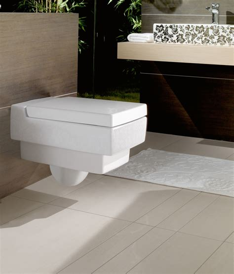 modern design toilets sleek bathroom collection focusing on the essential memento by villeroy boch freshome com