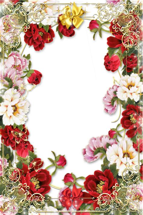 transparent gold png frame with flowers منتدى مدينة قطنا flowers decoupage and