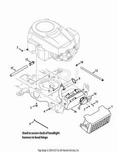 Mtd 13ax90yt001  2010  Parts Diagram For Engine Accessories