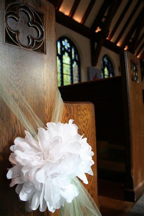 homespun paper flower poofs  rachies wedding