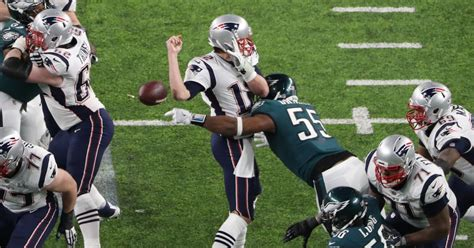 super bowl lii final score tuck rule couldnt save patriots  time  eagles win