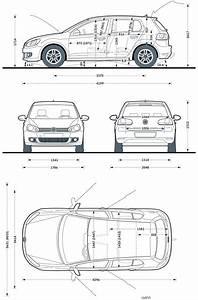 Dimension Polo 6 : dimension chassis golf vi 5 portes ~ Medecine-chirurgie-esthetiques.com Avis de Voitures