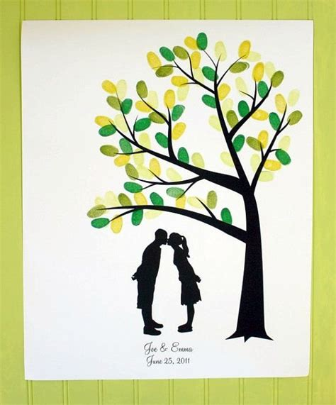 1000 ideas about wedding fingerprint tree on guest books wedding trees and wedding