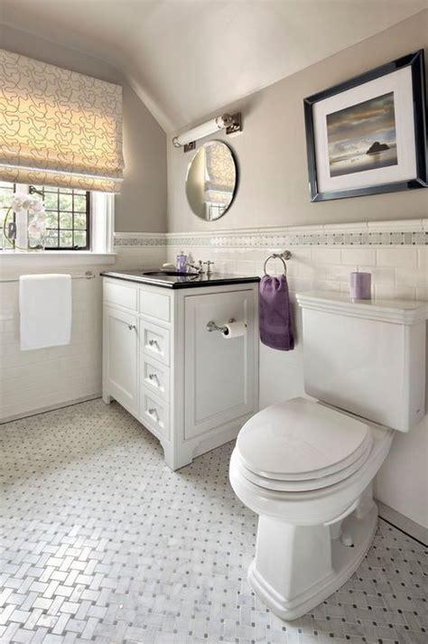bathroom anatolia bianco venatino basketweave