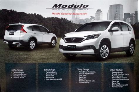honda introduces modulo kit    cr   malaysia