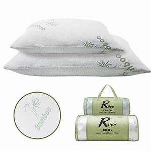removable bamboo pillow memory foam hypoallergenic cool With bamboo pillow price